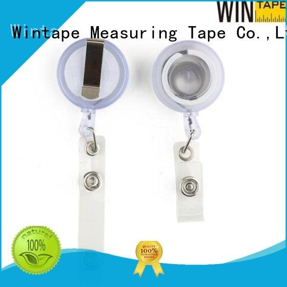 Wintape quality personalized badge reels fine-quality for student
