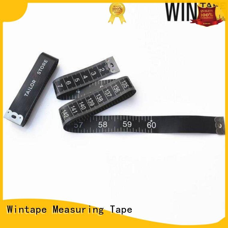 Custom Black Seamstress Tailor Tape Measure