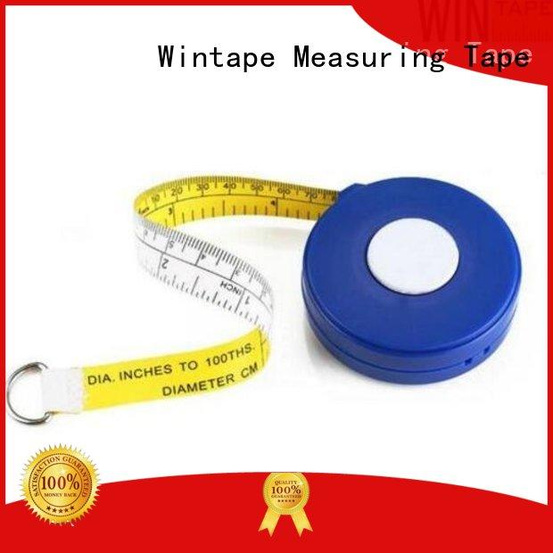 Wintape excellent tree diameter tape leather tape measure for factory