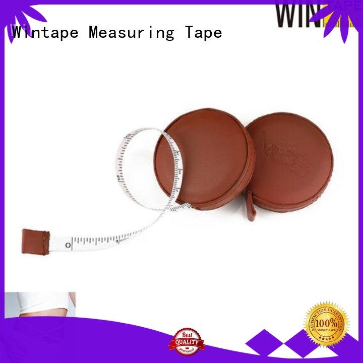 Wintape qualified keychain tape measure sewing tape measure for workhouse