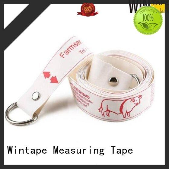 Wintape high quality pig weight tape children head circumference forhome