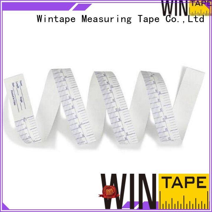 latex free medical tape tyvek tapes inch Wintape Brand retractable tape measure medical