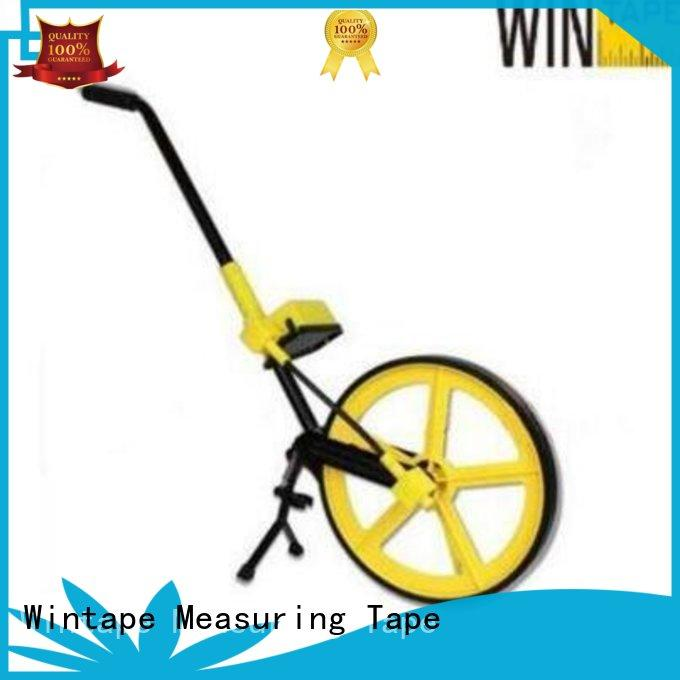Wintape wheel rolling measuring wheel quality for trainers