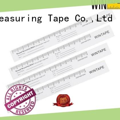 Wintape paper wound measurement tool record wound date for daily