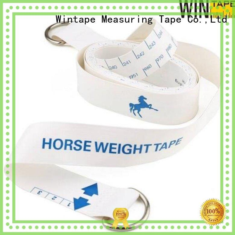 horse fence tape measuring measure imperialpound Wintape Brand