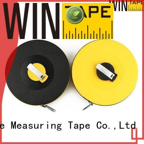 closedreel fiberglass surveyors measure Wintape Brand surveyors steel tape measure supplier