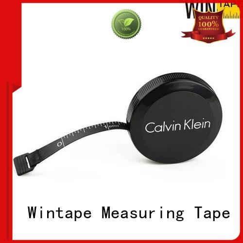 Wintape pu keyring tape measure leather tape measure for home