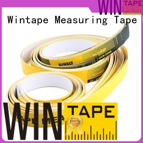 paper oem measures Wintape Brand adhesive measuring tape for table saw manufacture