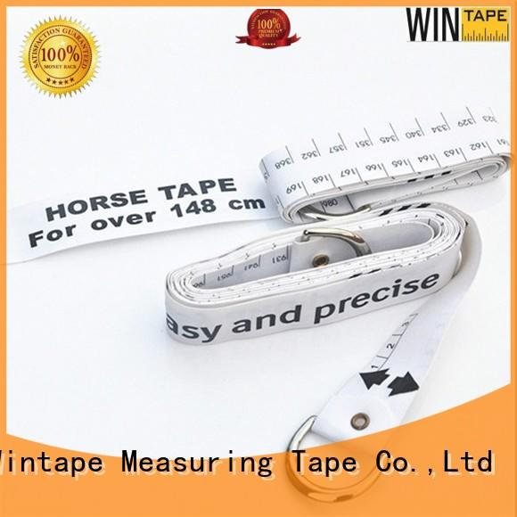 Wintape Brand horse logo horse fence tape weighing