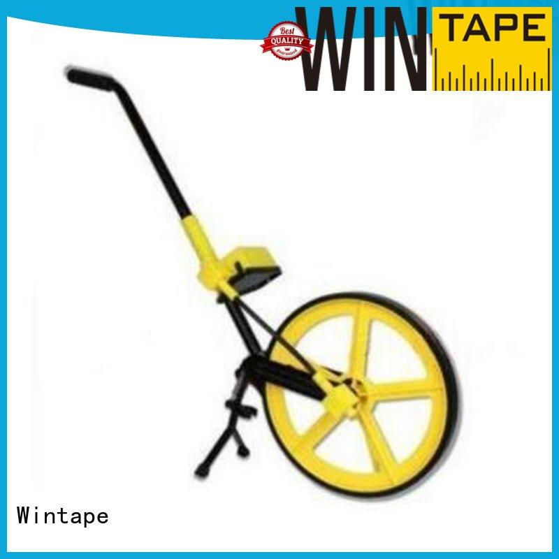 qualified rolling tape measure wheel wheel affordable for gymnasium