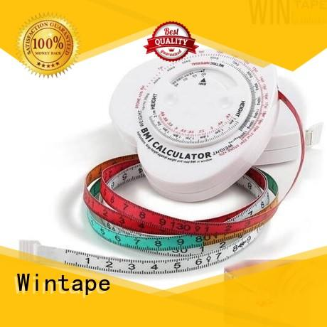 Wintape gradely digital body tape measure for measuring waist cloth customized