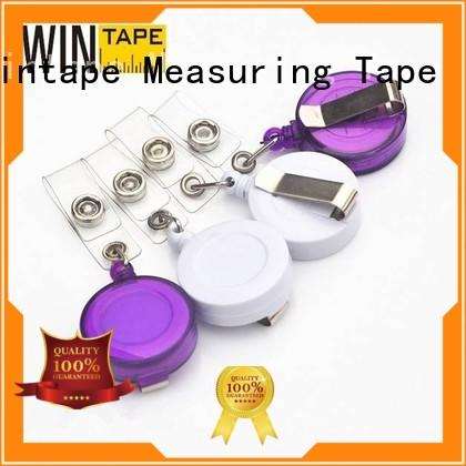 Wintape high quality custom badge reels inexpensive for children