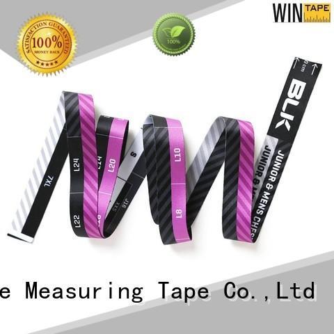 flexible centimeters tailor measurements customized fiberglass Wintape company