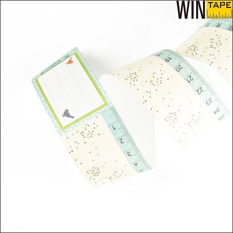 Custom Tyvek  Paper Measuring Tape