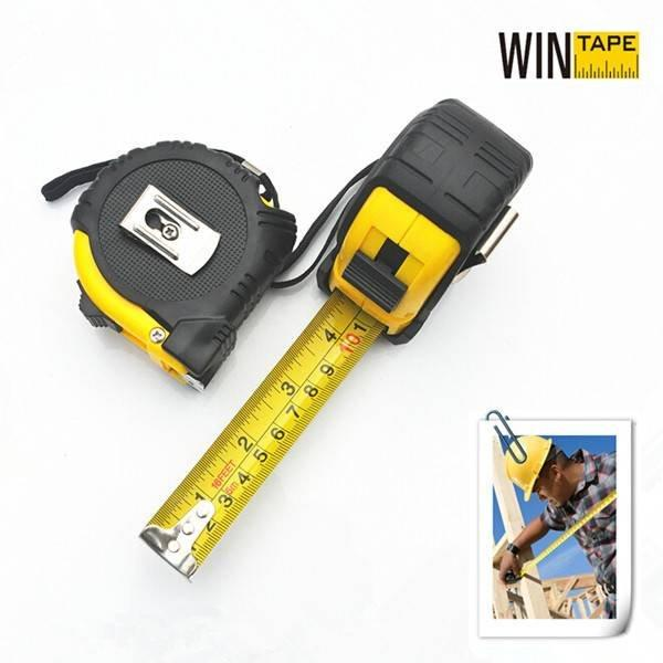 Wintape Rubber Cover Steel Tape Measure