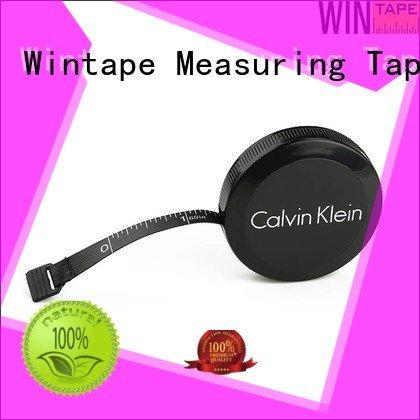 Wintape customized logo sewing tape measure cover advertising
