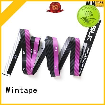 Wintape logo metric tape measure factory price measure clothes