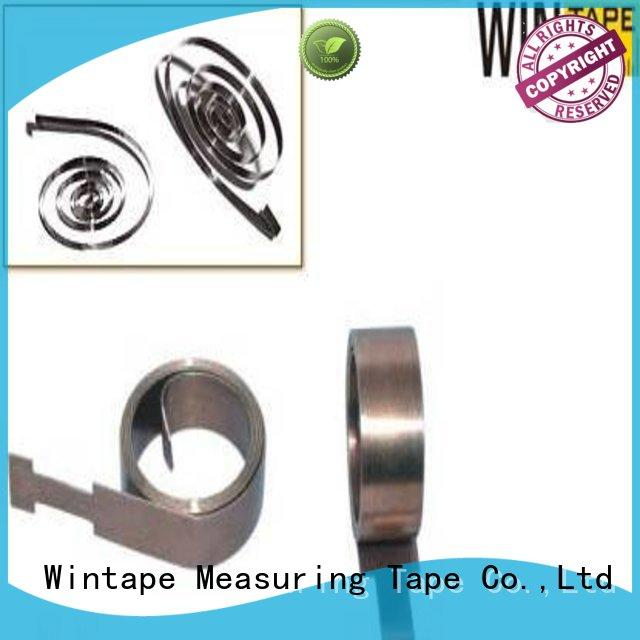 Wintape Brand stainless tape measure belt clip measuring factory