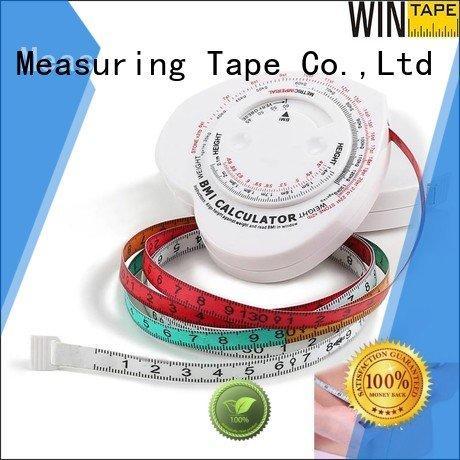 Wintape Brand mass body weight measurements tape metric