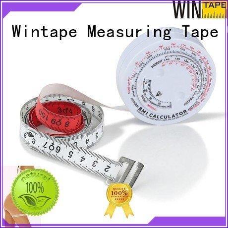 Wintape Brand body index measurement fitness measuring tape