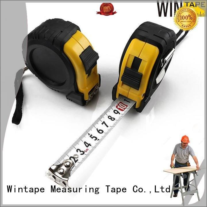 Wintape Brand stainless metric steel scale ruler logo measure