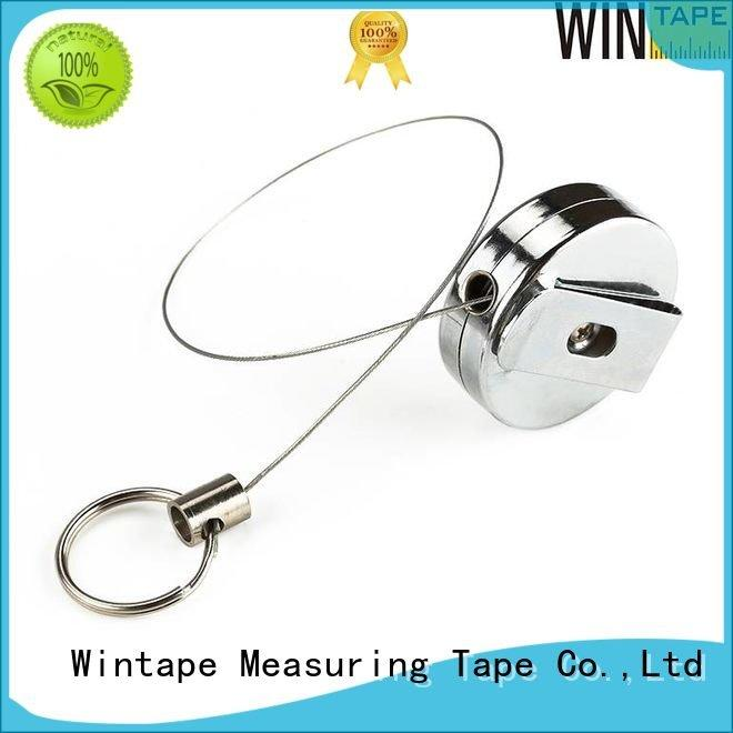 metal reel badge metal badge reel Wintape
