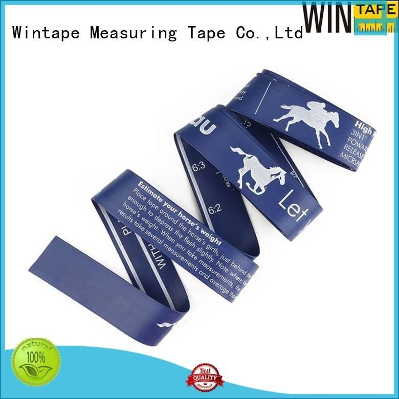 Wintape Brand pony measuring horse height measuring tape logo weighing