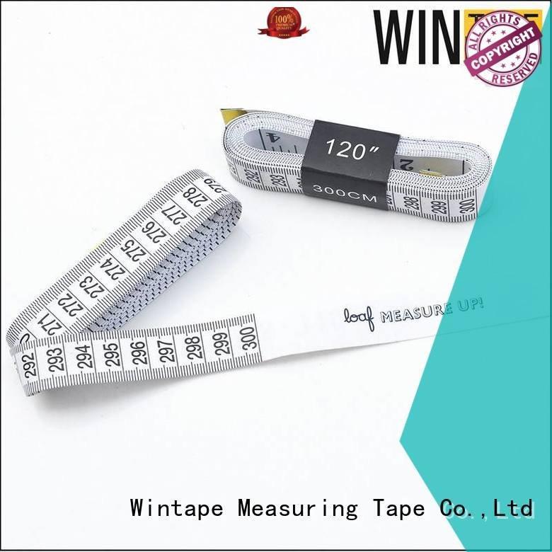 Quality digital tape measure Wintape Brand seamstress tailor measurements