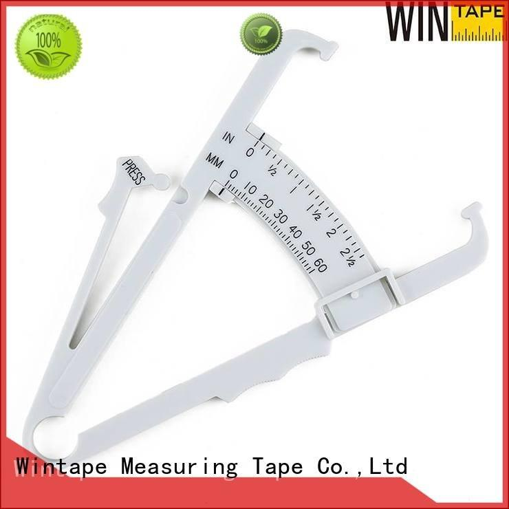 Wintape Brand calculator fat measure body fat percentage measurer black