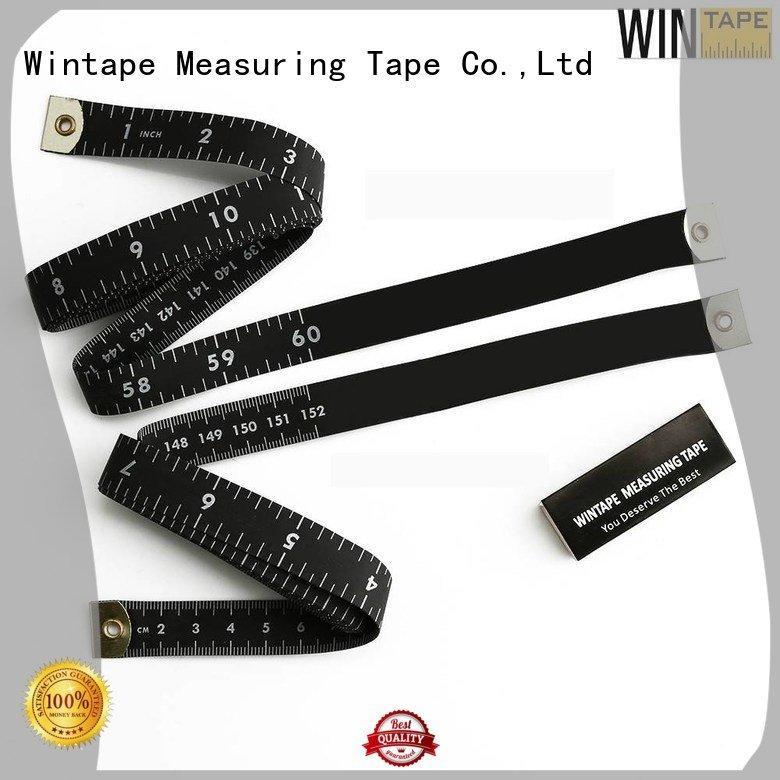Hot digital tape measure tape tailor measurements logo Wintape