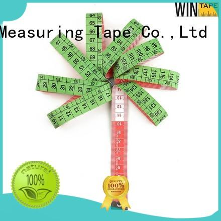 logo fiberglass measuring customized Wintape Brand tailor measurements supplier