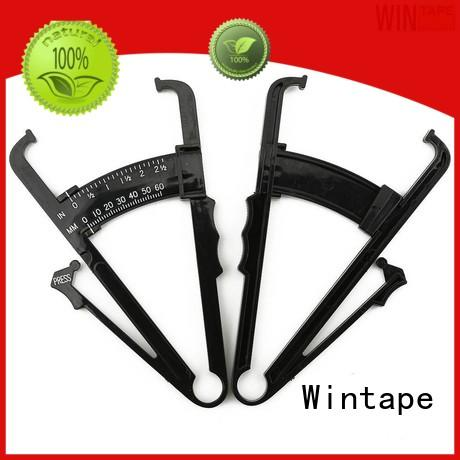 Wintape affordable digital body fat caliper white for trainers