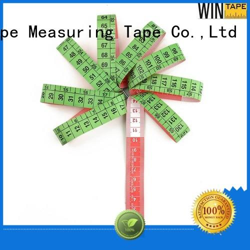 Wintape fiberglass cloth tape measure factory price measure cloth