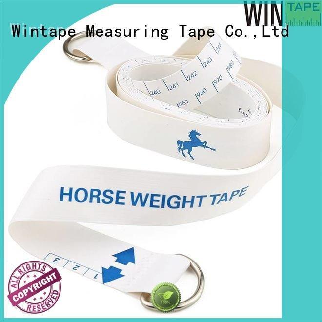 logo weighing Wintape horse weight measuring tape