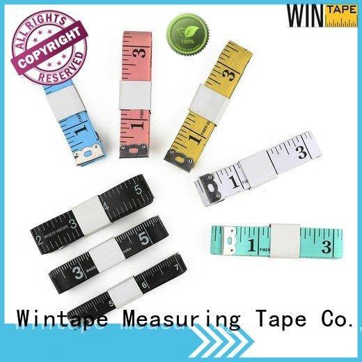 customized tailor measurements Wintape digital tape measure