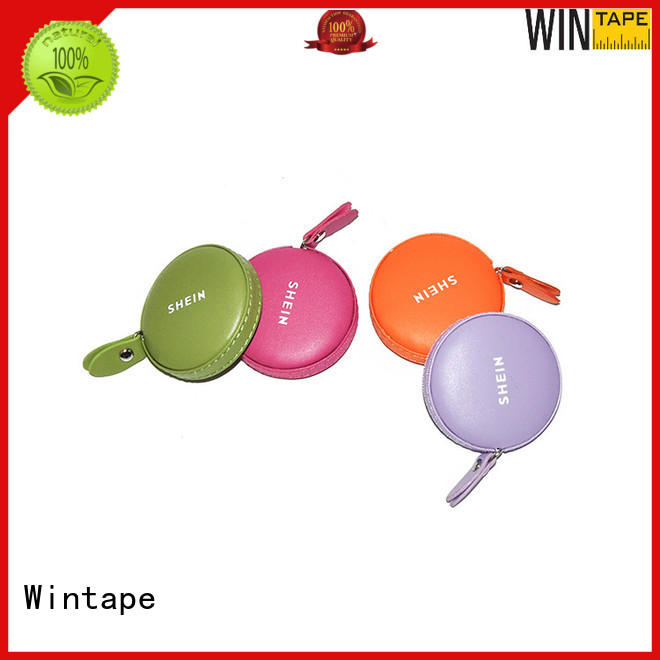 Wintape qualified sewing tape measure leather tape measure for daily