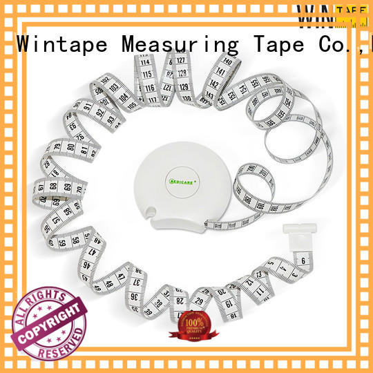 Wintape medical weight loss measuring tape for measuring body cloth customized